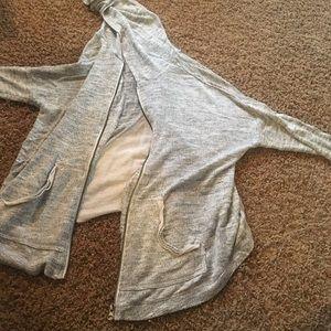 💵BUNDLE TO SAVE💵 Gray zip up hoodie